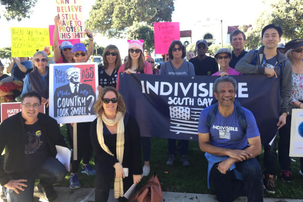 ISBLA at Women's March South Bay Beach Cities